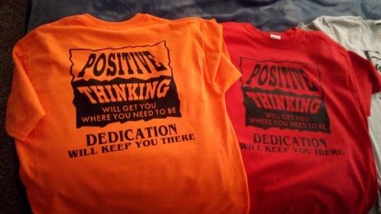 poetive thinking shirts