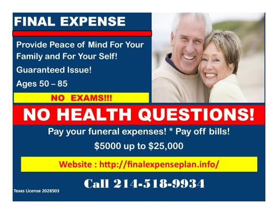 final expense post card 6 1